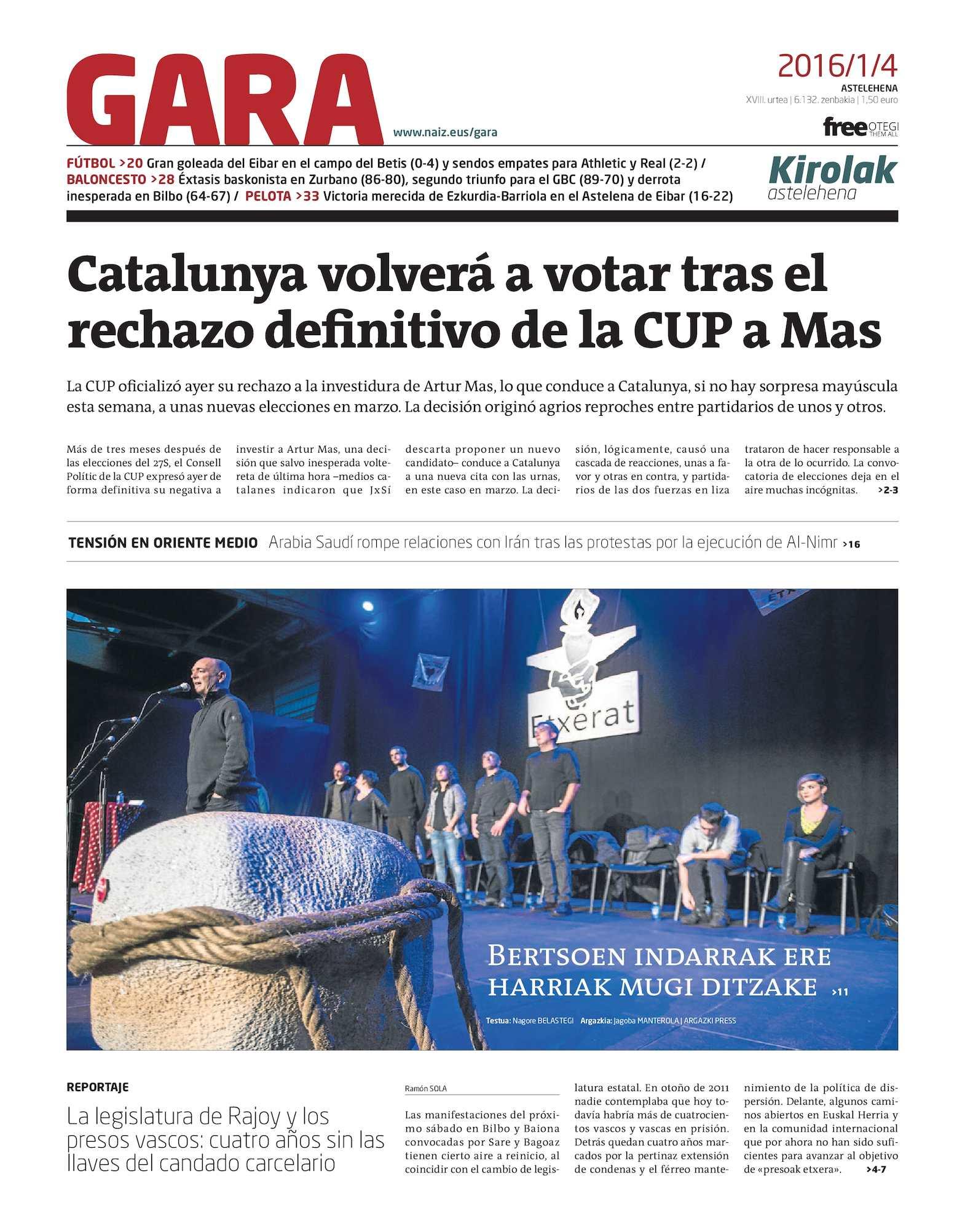Calaméo - GARA 20160104