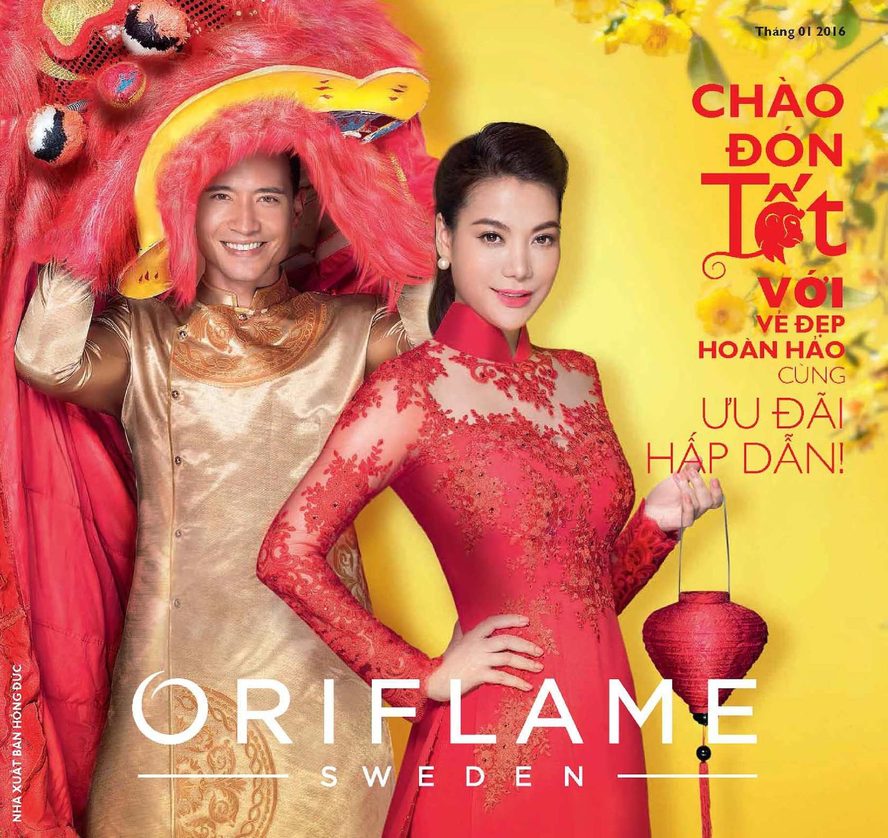 Catalogue My Pham Oriflame 1-2016