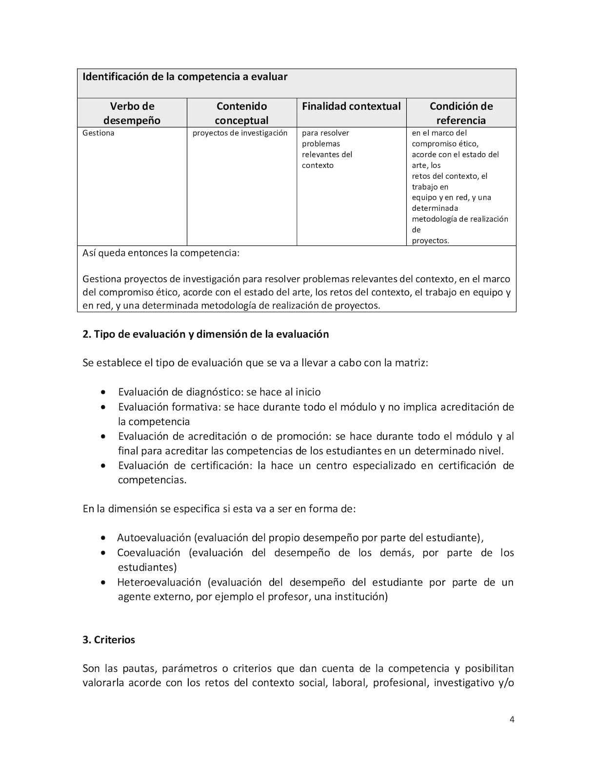 Minedu Matrices De Evaluacion Tobon - CALAMEO Downloader