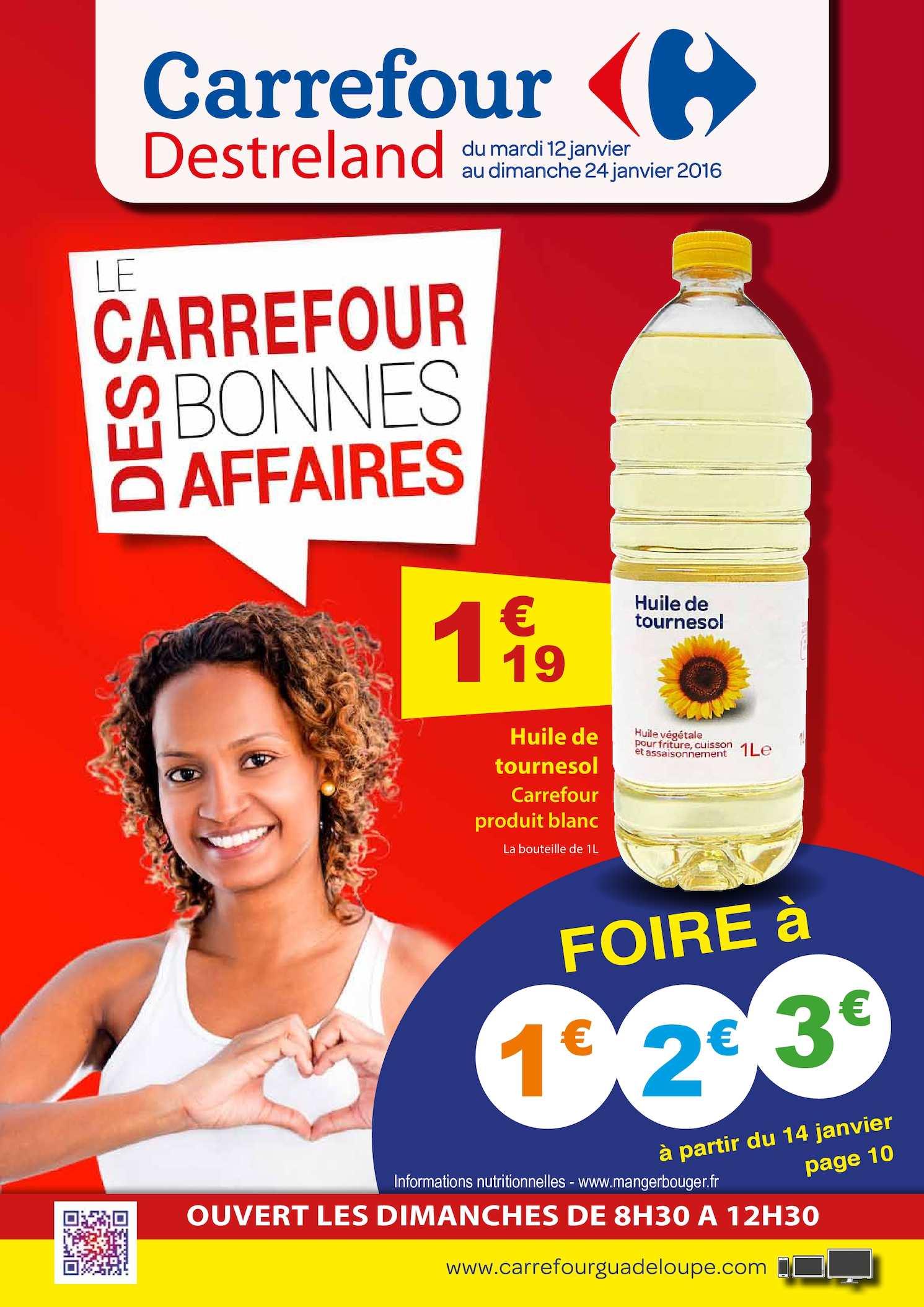 Calam O Catalogue Carrefour Petits Prix 2016