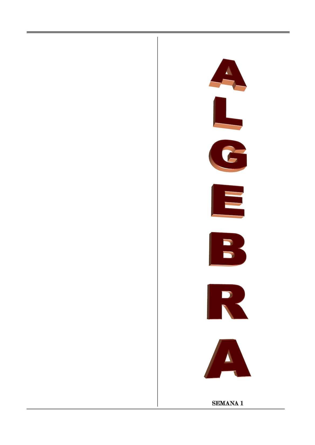 Algebra Preuniversitaria 600 Ejercicios Resueltos