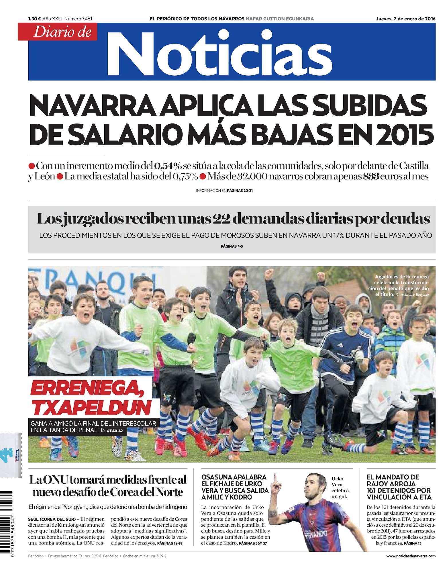 new styles 7a9b6 4b74f Calaméo - Diario de Noticias 20160107