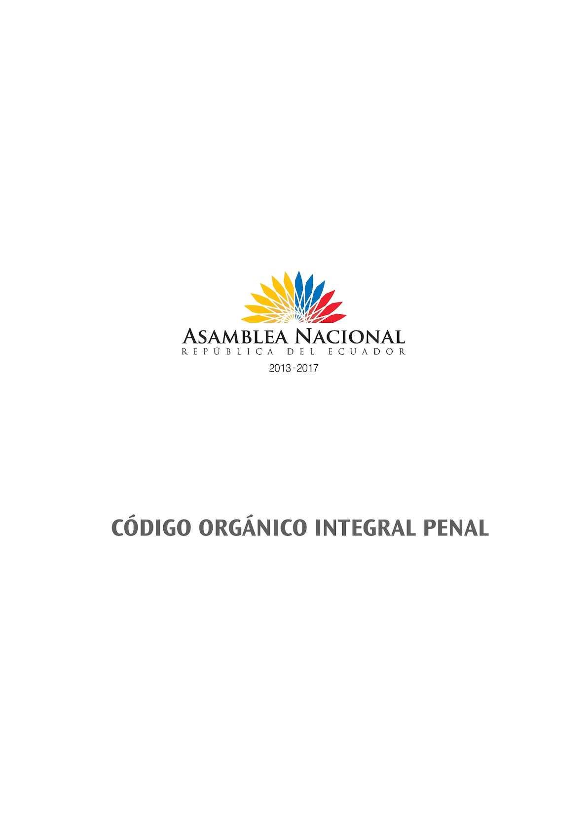 Calaméo - Código Integral Penal