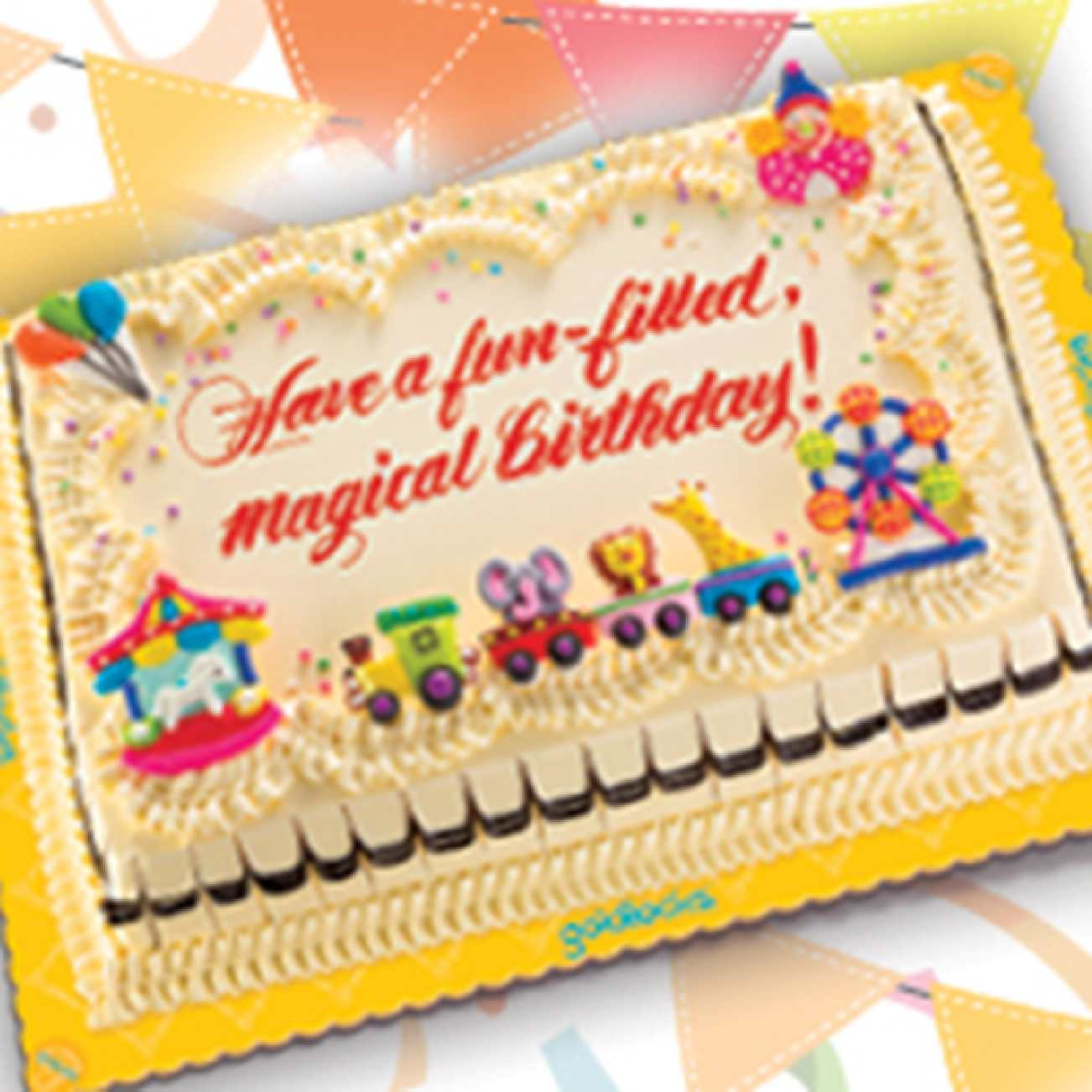 Calamo Carnival Theme Greeting Cake For Only P573 Available At
