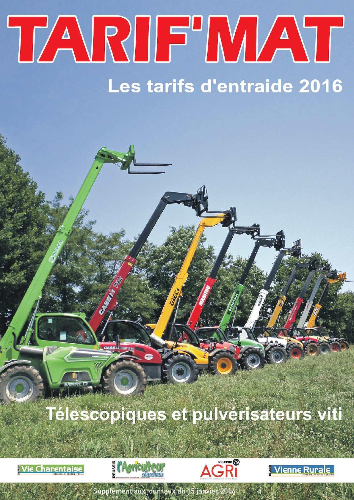 Calam o tarif mat 2016 - Chambre agriculture poitou charentes ...