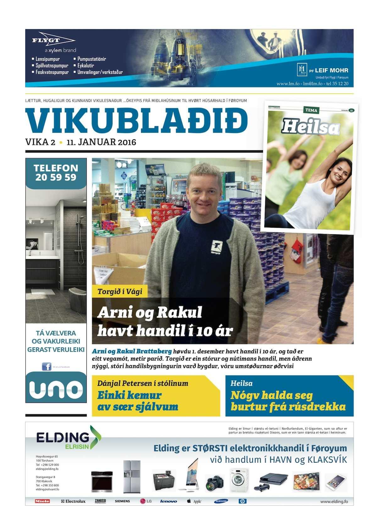 Vikublaðið 11. jan. 2016