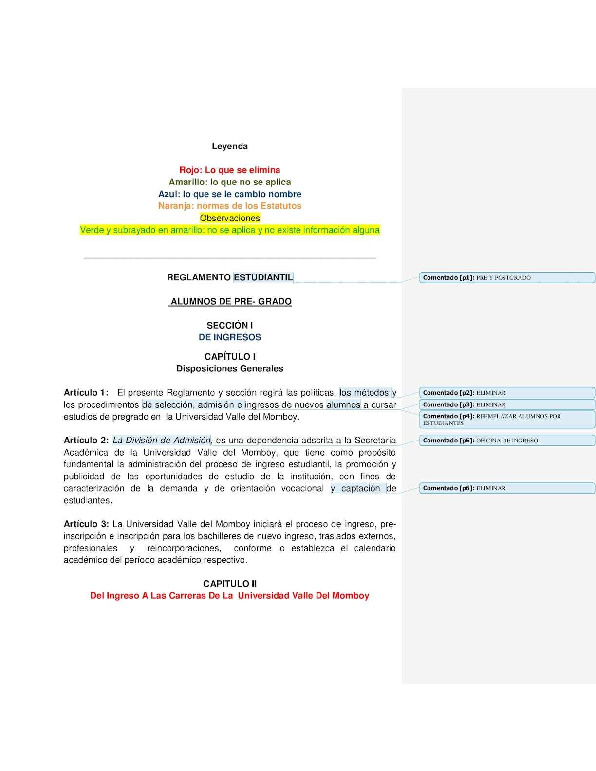 Calaméo - Revisión De Los Procesos Internos De Admisión