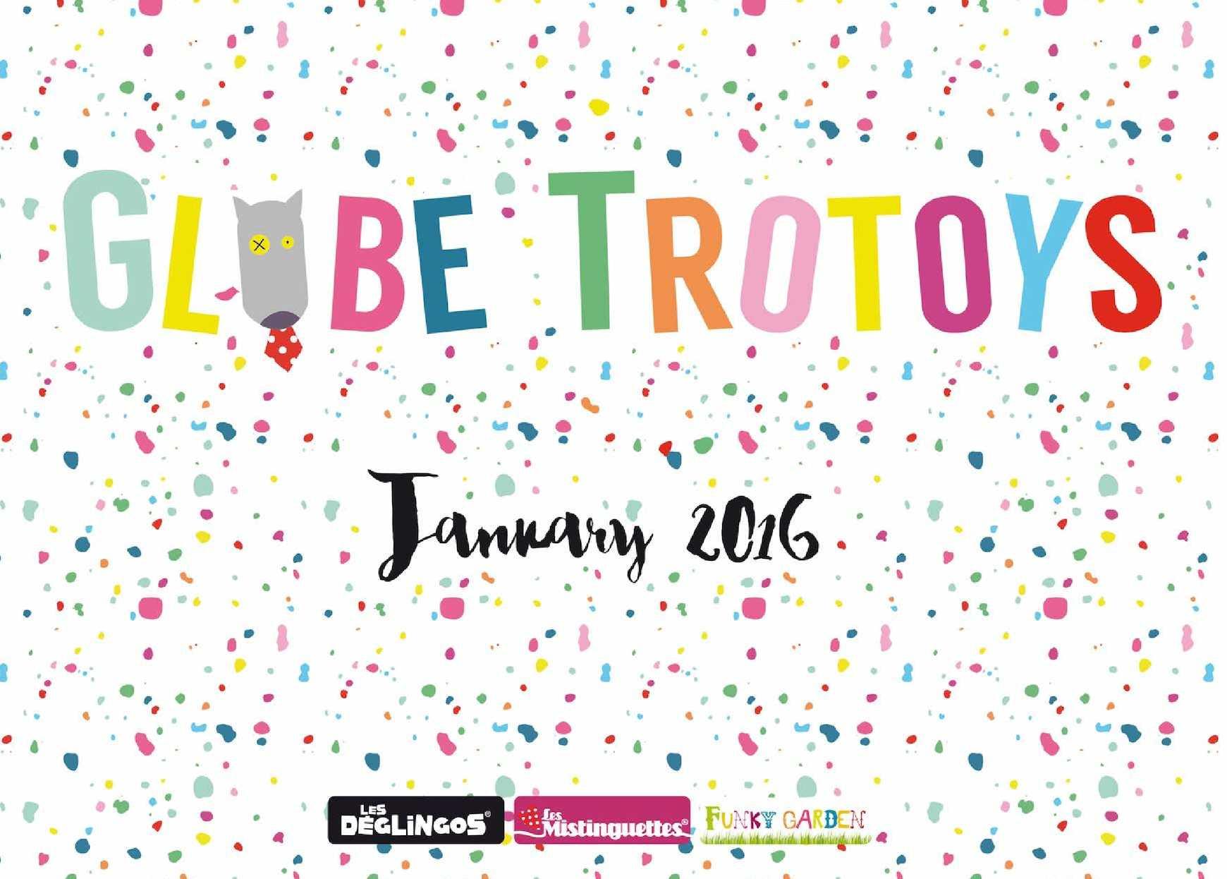 CATALOGUE GLOBE TROTOYS 2016