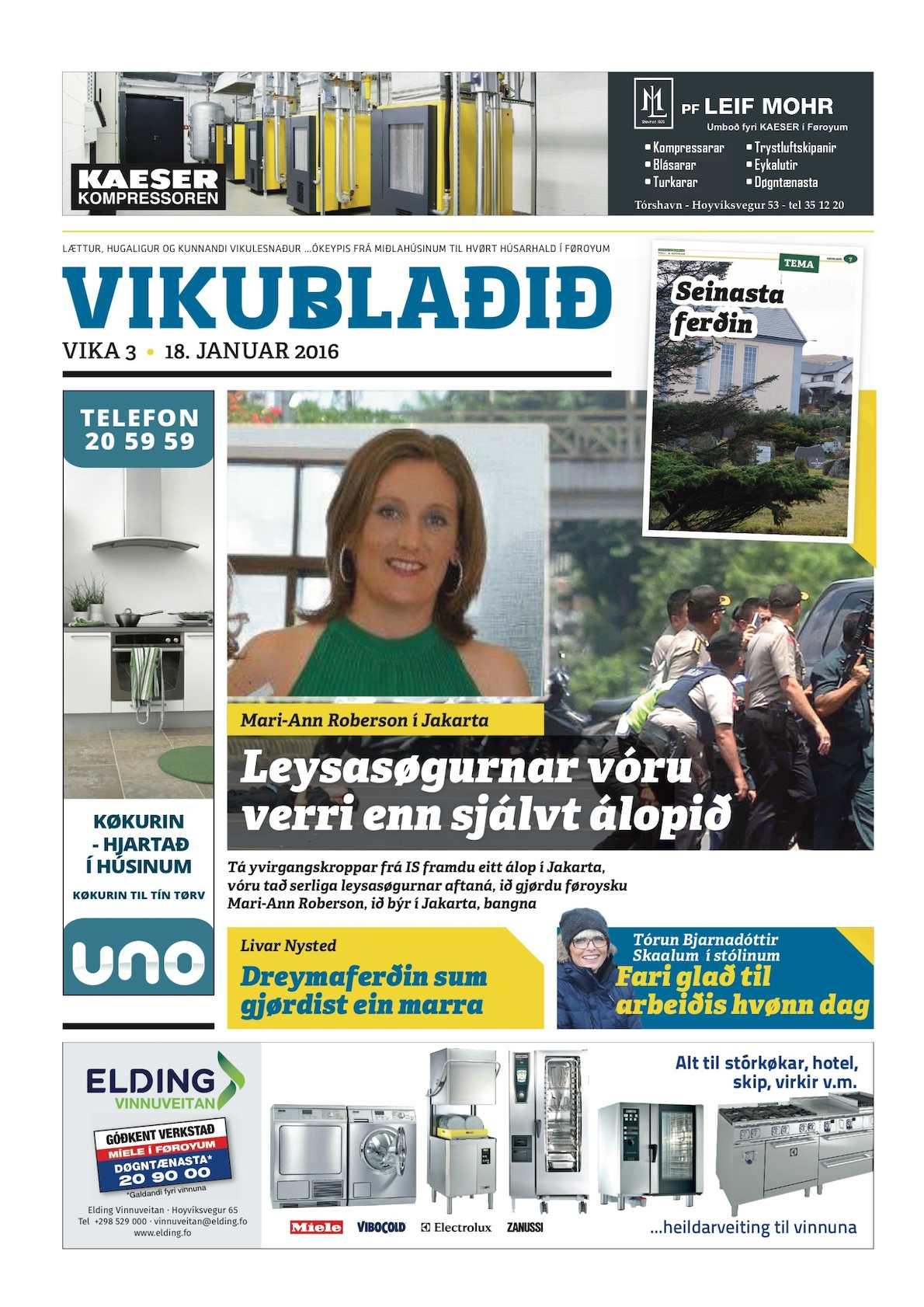 Vikublaðið 18. jan. 2016