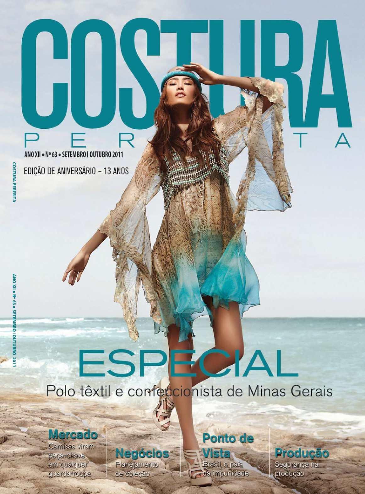 Calaméo - Revista Costura Perfeita Edição Ano XII - N63 - Setembro-Outubro  2011 4a403e3a280
