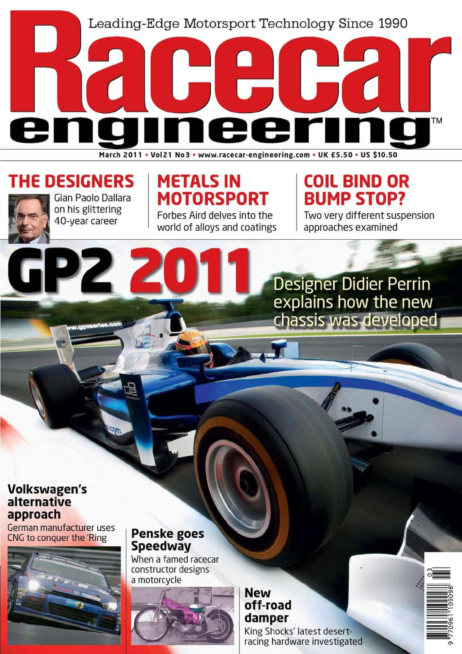 Racecar Engineering March 2011