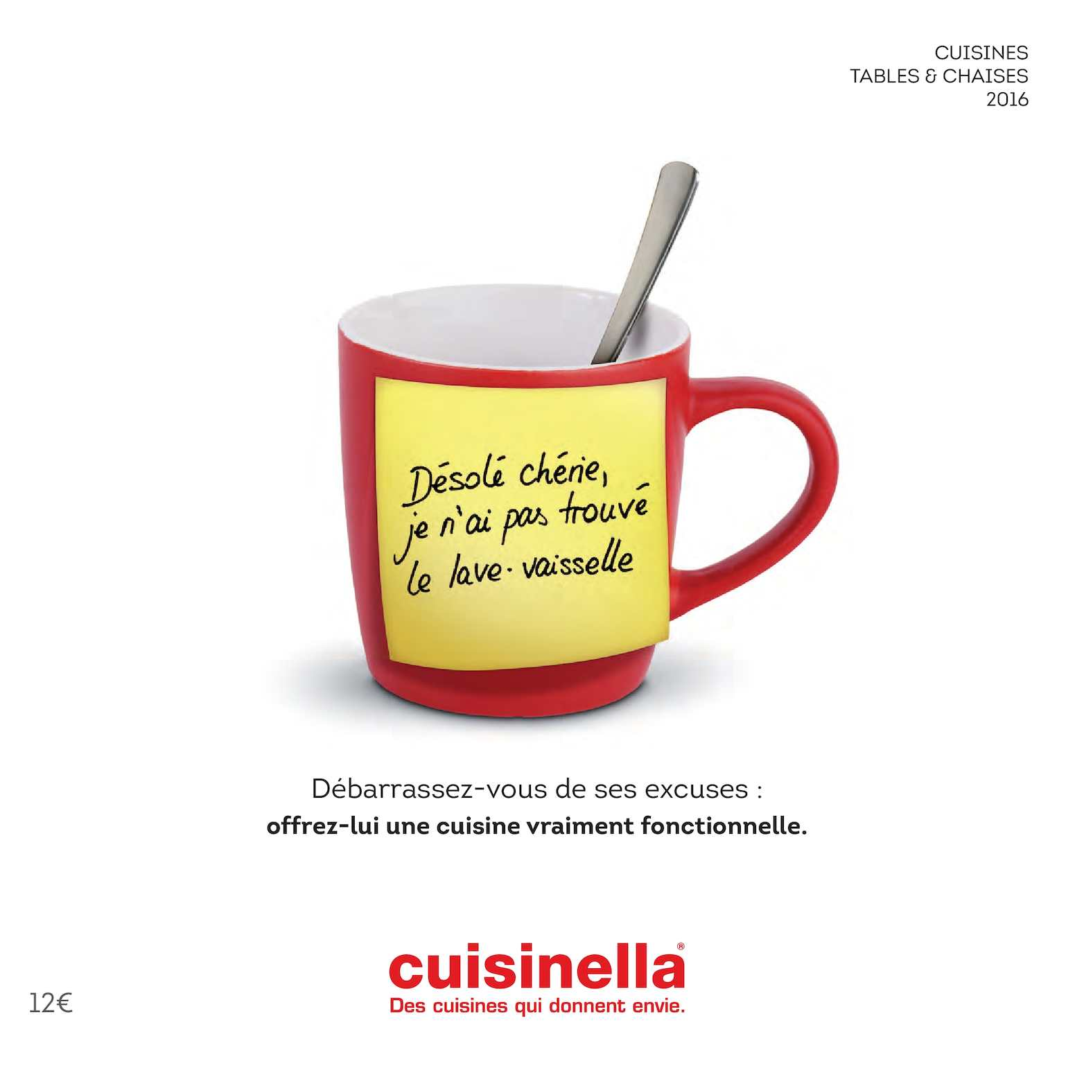 Calam o catalogue cuisinella les cuisines 2016 for Cuisinella com catalogue