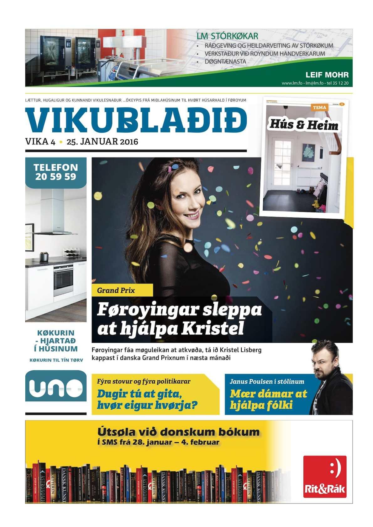 Vikublaðið 25. jan. 2016