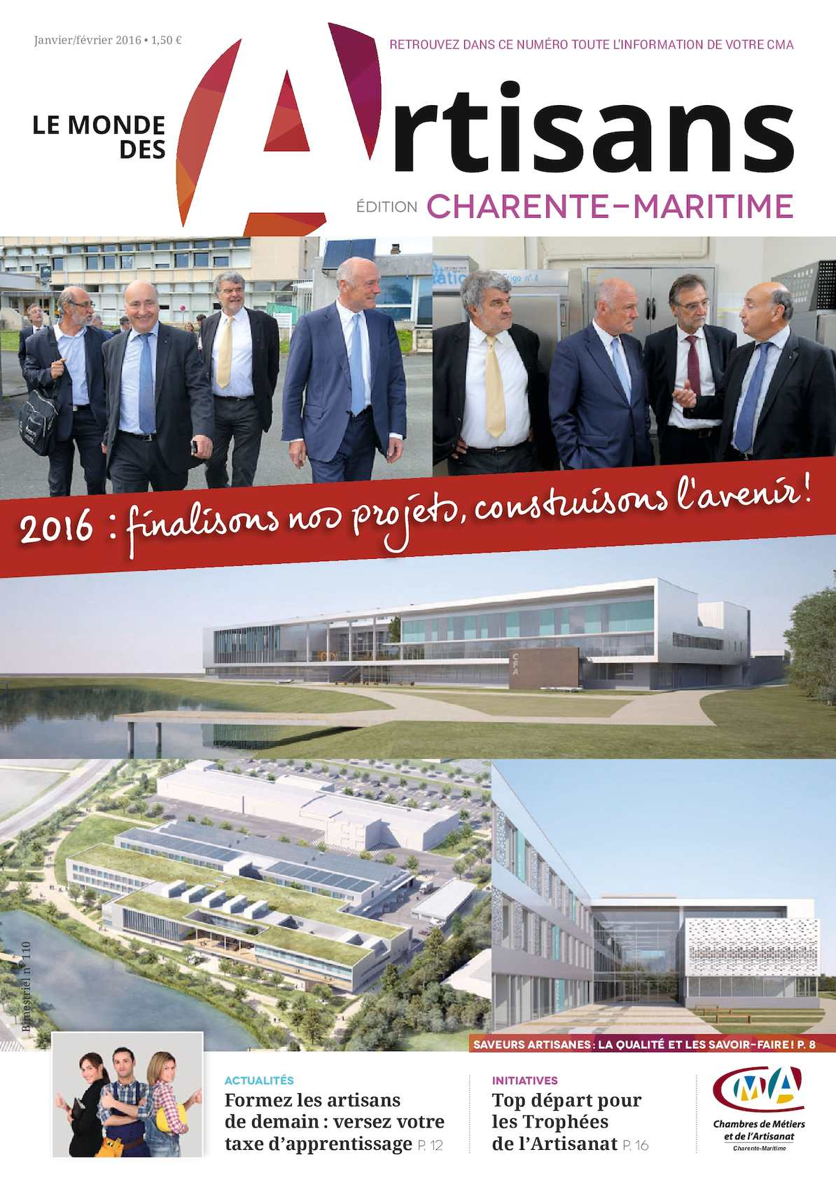 Calaméo   Le Mondes Des Artisans De Charente Maritime Janvier 2016