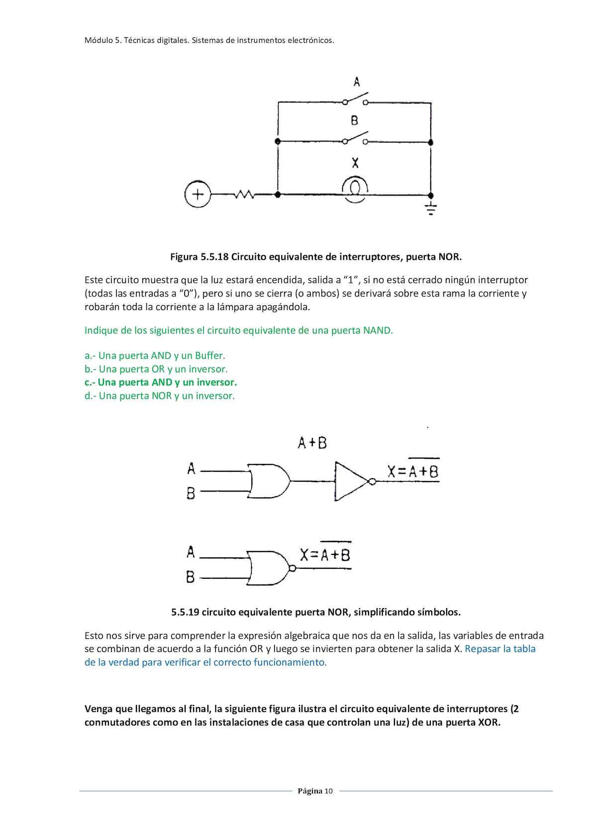 Circuito And : Circuitos logicos calameo downloader