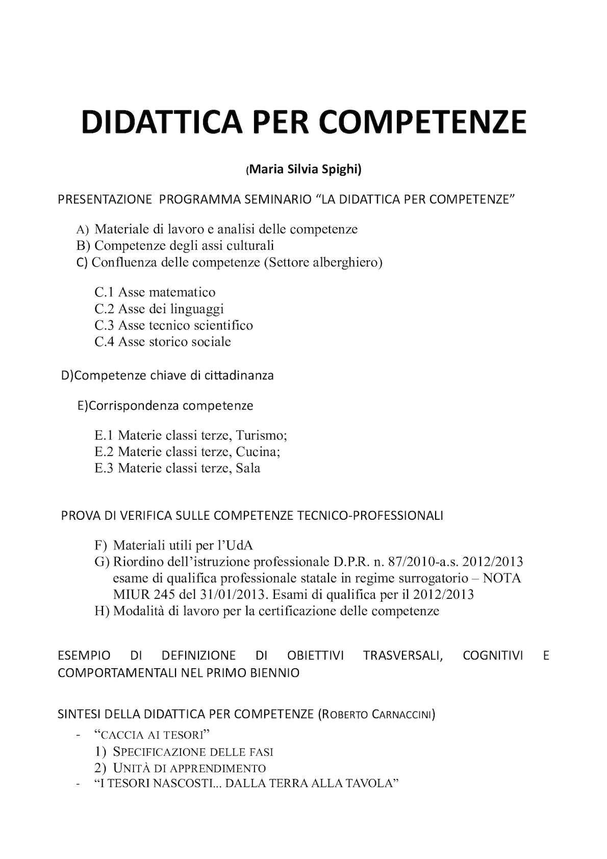 Schemi Elettrici Lesa : Calaméo la didattica per competenze