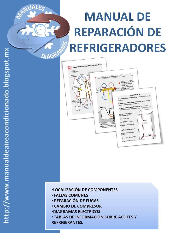 Manual de Reparación de Refrigeradores - Manuales y Diagramas - VAF