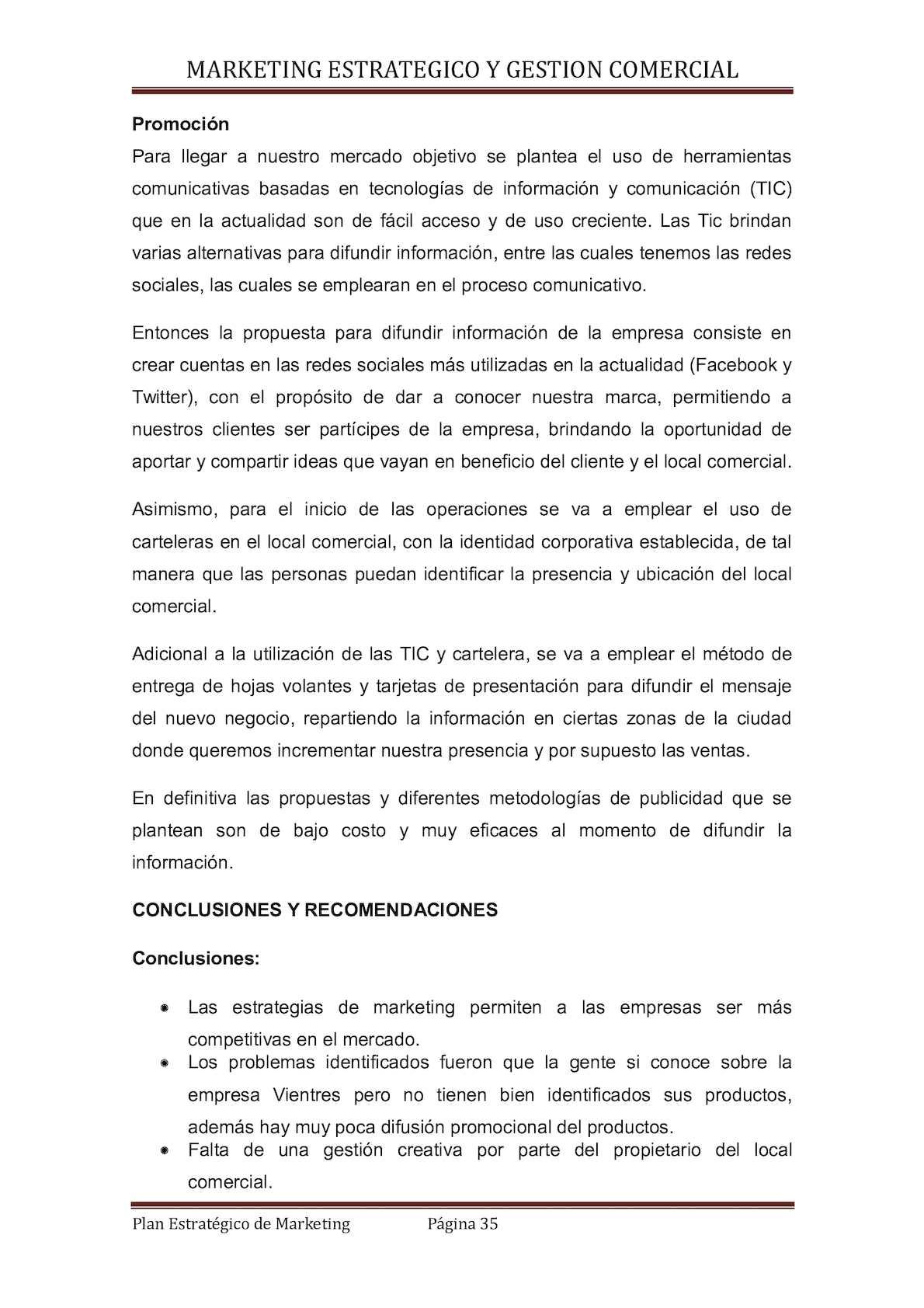 Plan Estrategico De Marketing De Vientres - CALAMEO Downloader