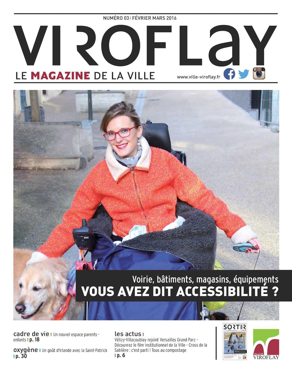 Viroflay le magazine de la ville n°3 (février - mars 2016)