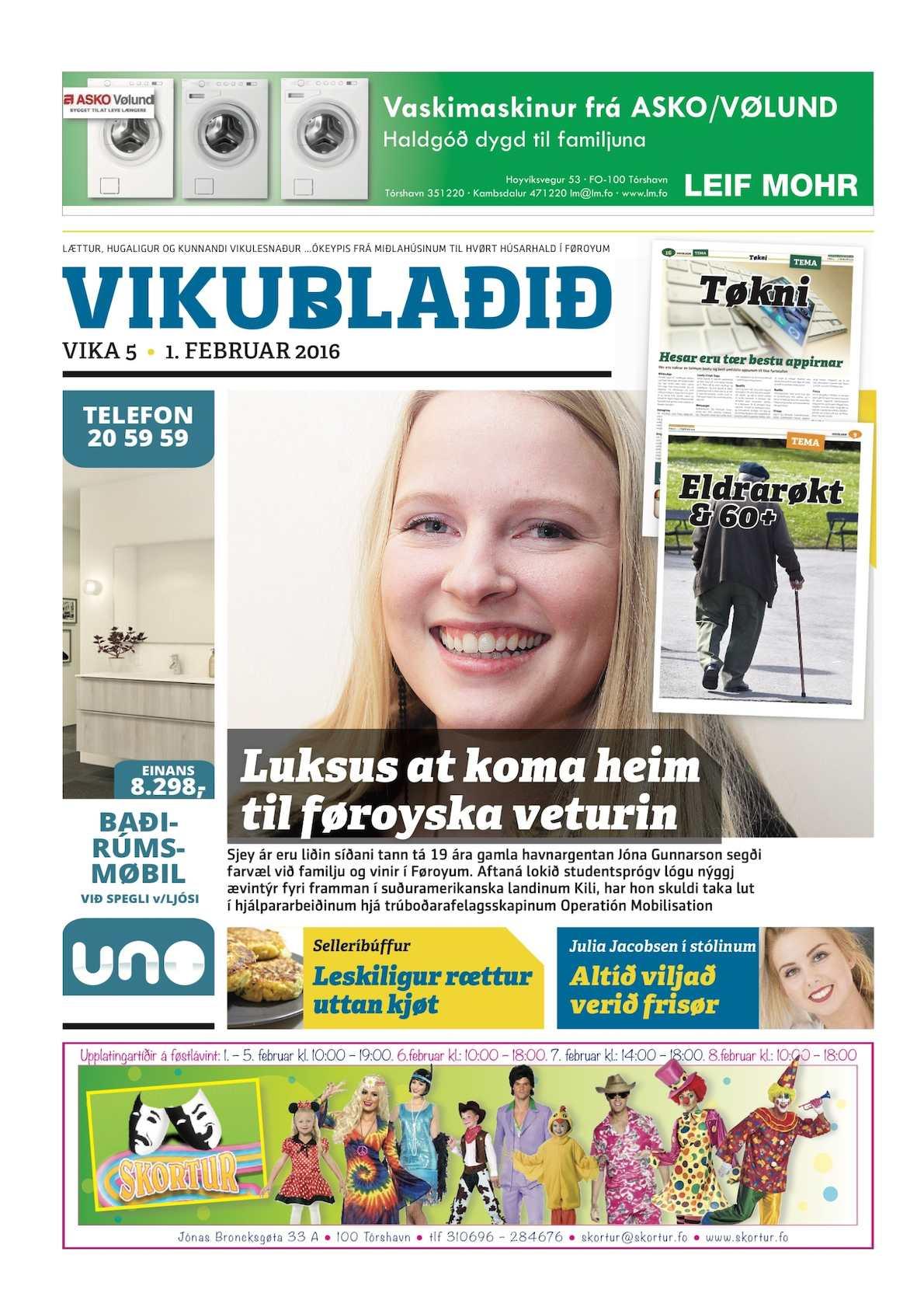 Vikublaðið 1. feb. 2016