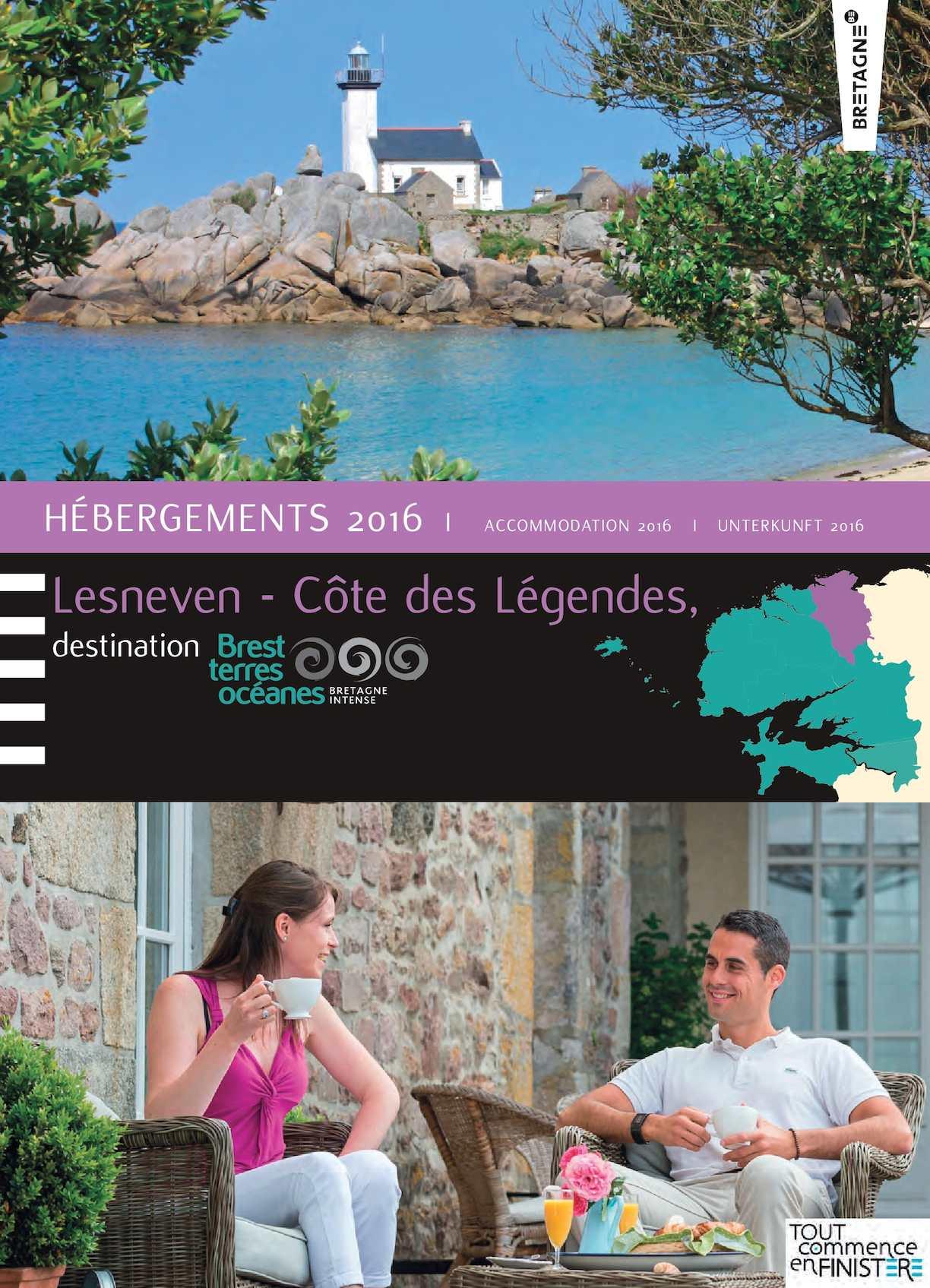 Calaméo Lesneven C´te Des Légendes Catalogue Des Hébergements 2016 Web