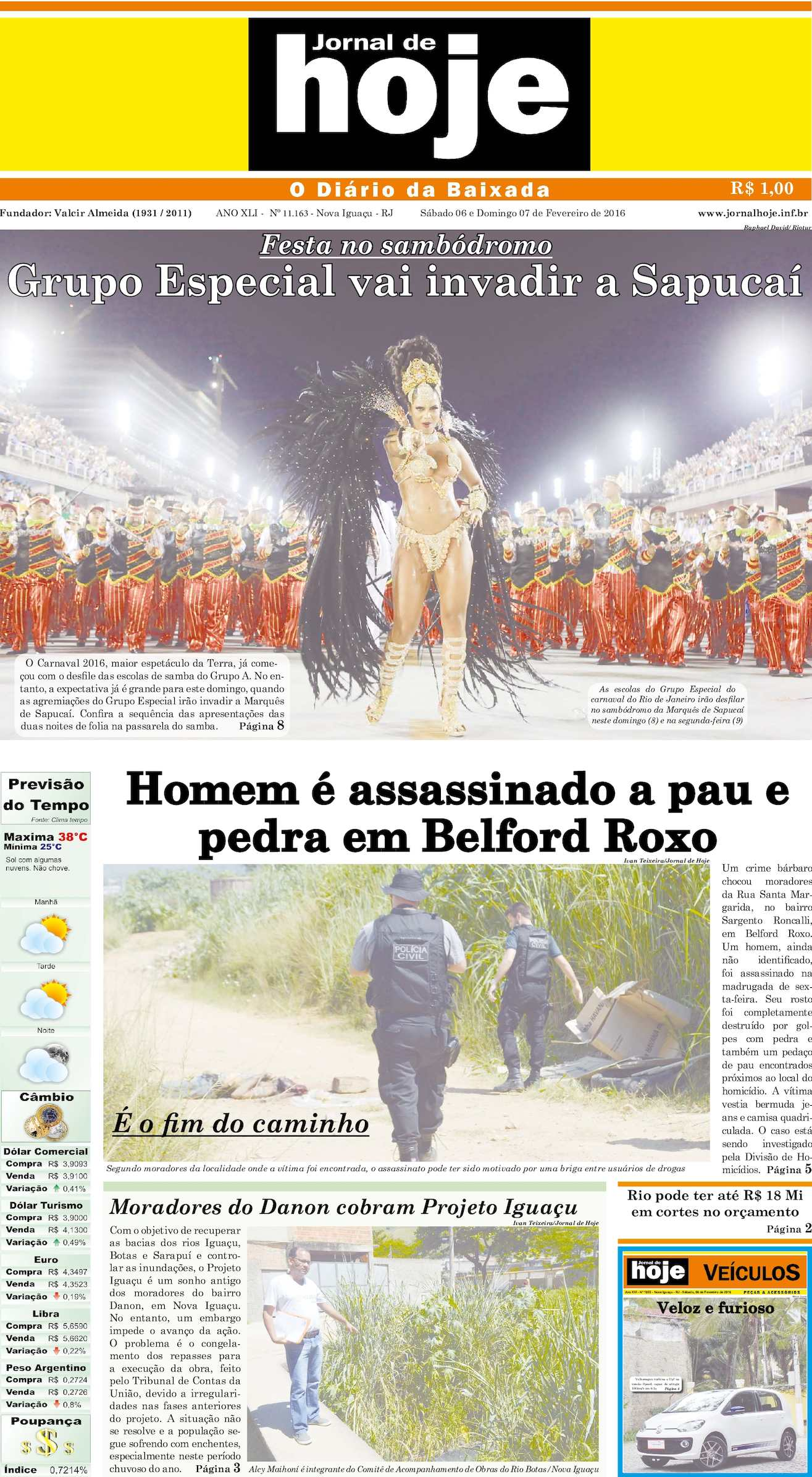 Jornal De Hoje 060216