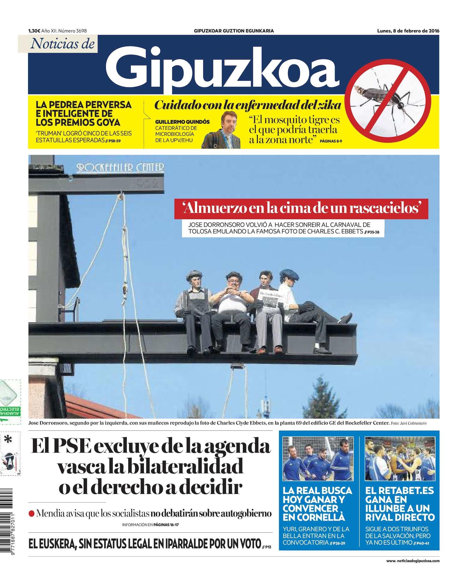 Calaméo - Noticias de Gipuzkoa 20160208