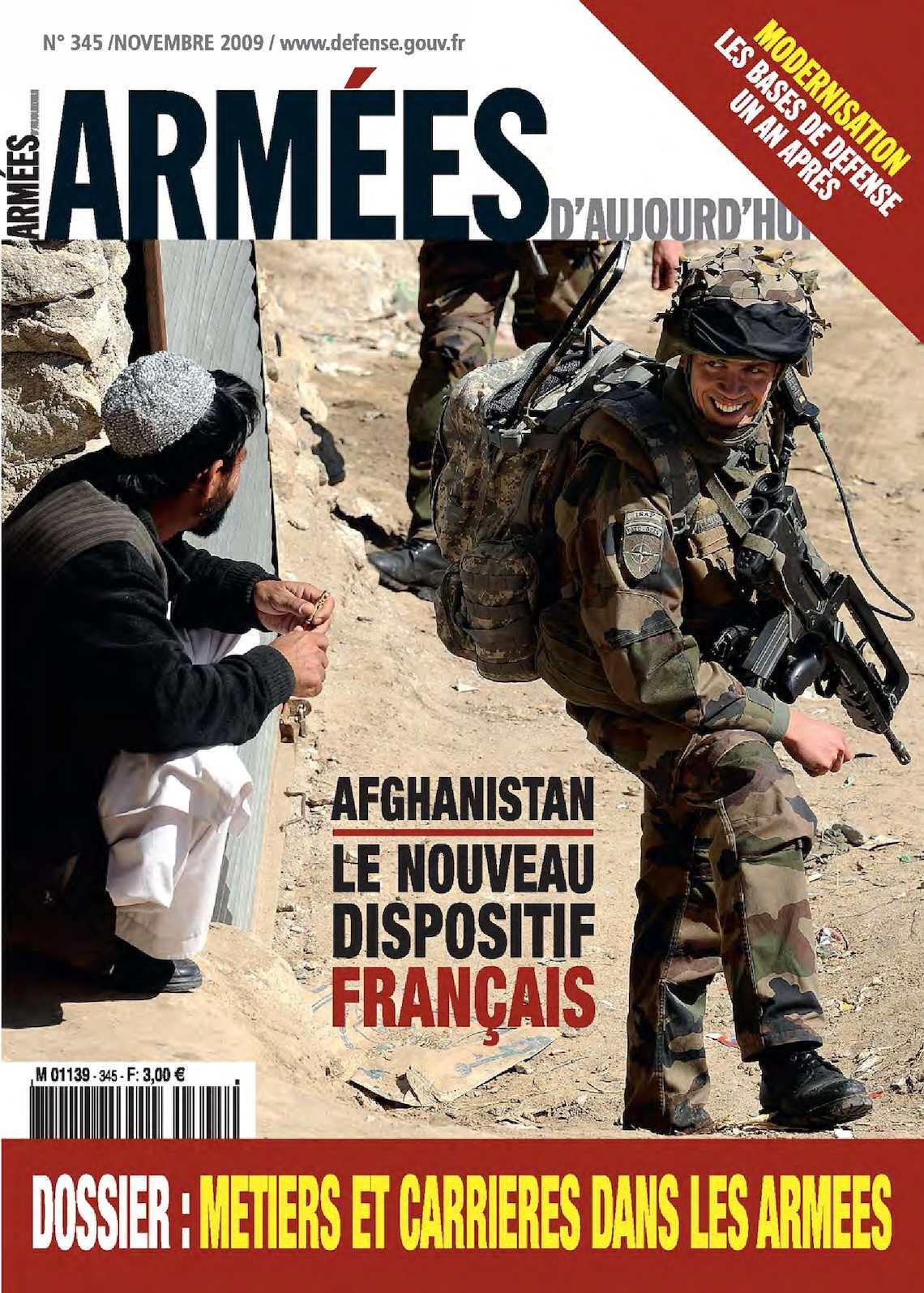 Armées d'Aujourd'hui n° 345 Novembre 2009