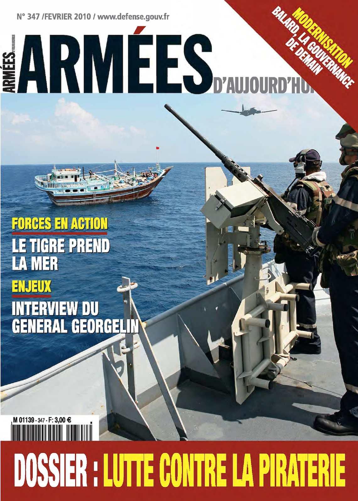 Armées d'Aujourd'hui n° 347 février 2010