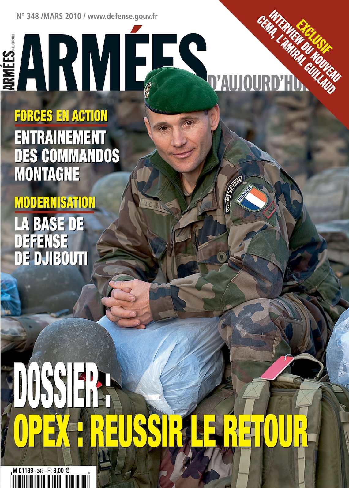 Armées d'Aujourd'hui n° 348 mars 2010