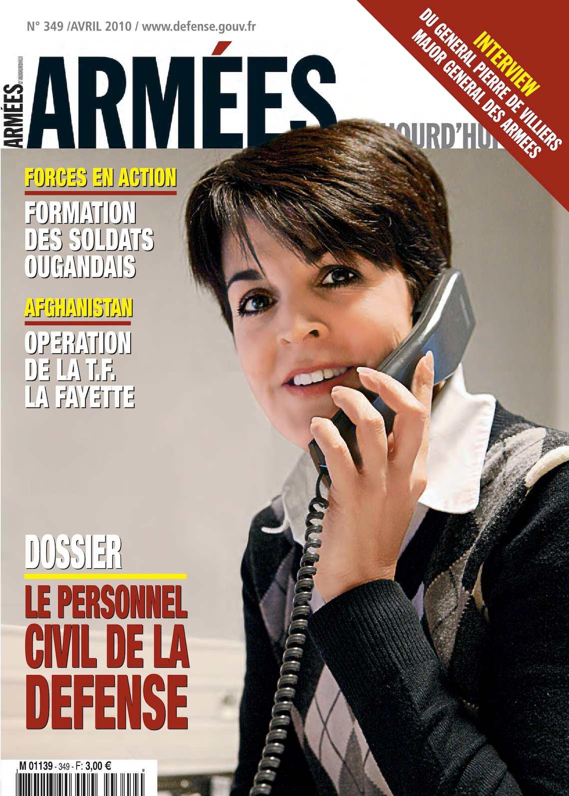 Armées d'Aujourd'hui n° 349 avril 2010