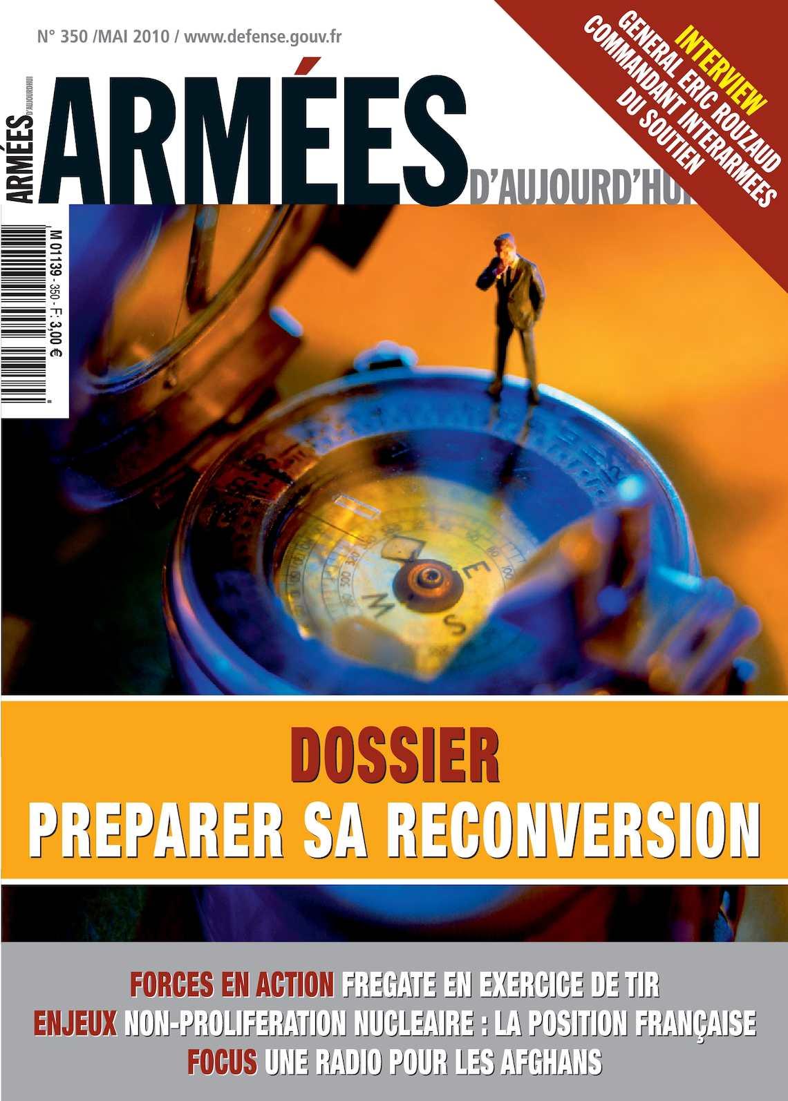 Armées d'Aujourd'hui n° 350 mai 2010