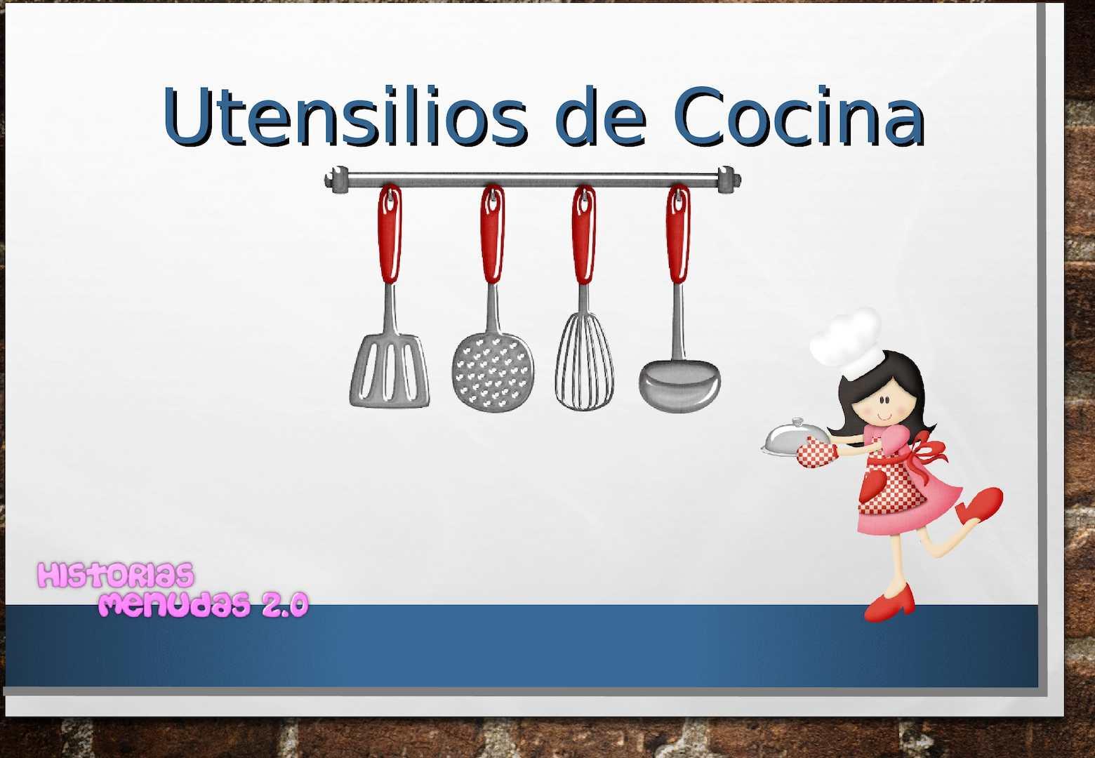 Calam o utensilios de cocina for Utensilios de cocina tumblr