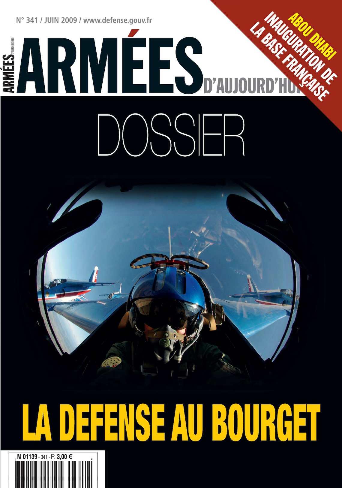 Armées d'Aujourd'hui n° 341 Juin 2009