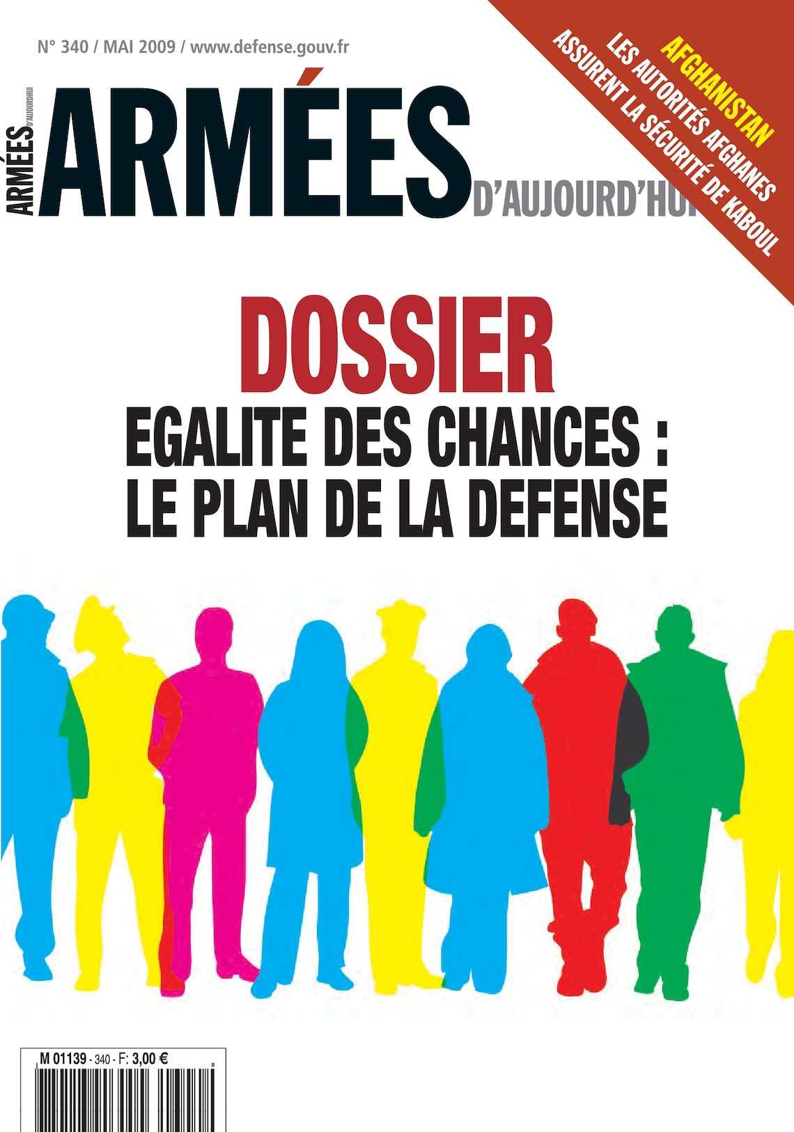 Armées d'Aujourd'hui n° 340 Mai 2009
