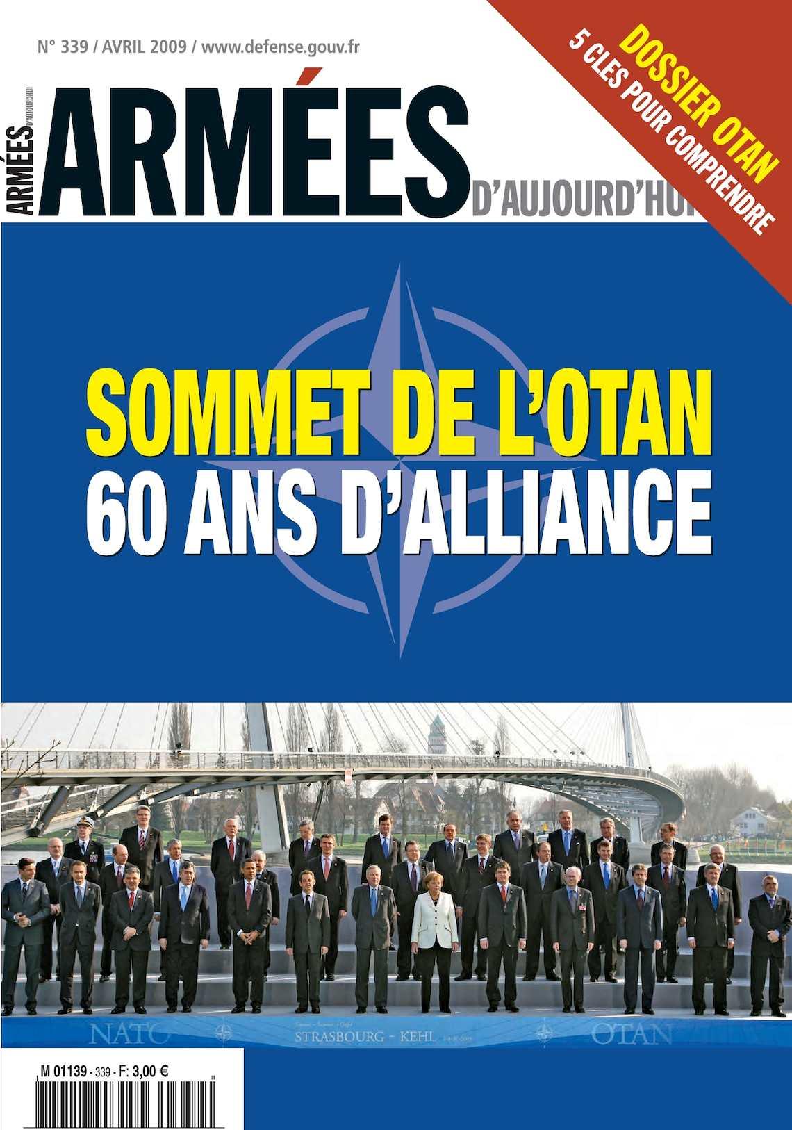 Armées d'Aujourd'hui n° 339 Avril 2009