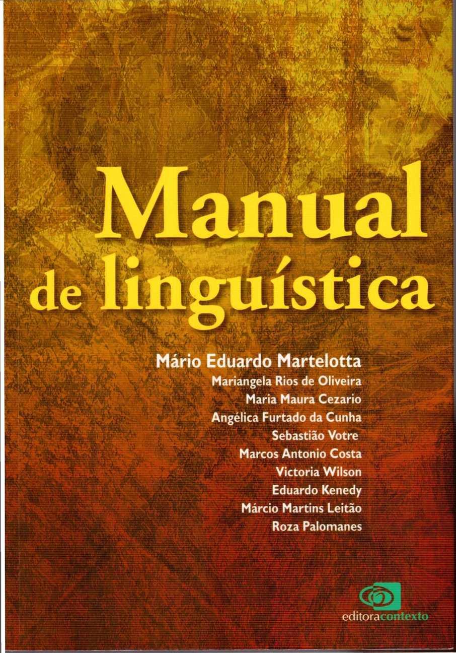 7. Martelotta, Mário (Org ) Manual De Linguística