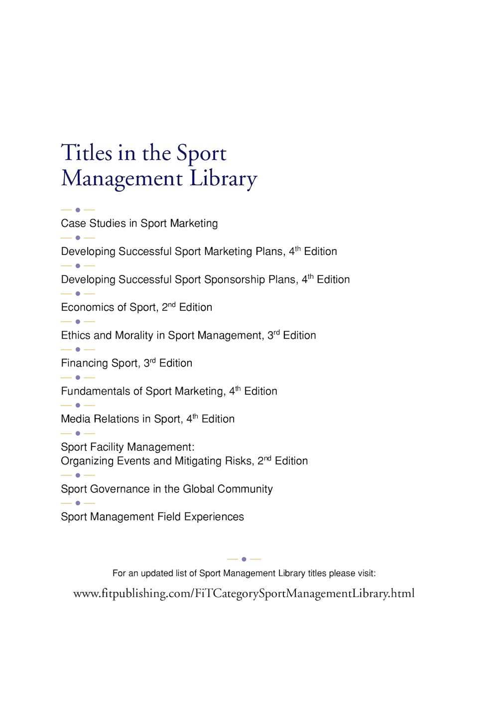 Managing sport facilities 2nd edition public assembly venue management sports array foundations sport management 3rd edition calameo downloader rh calameo download fandeluxe Images