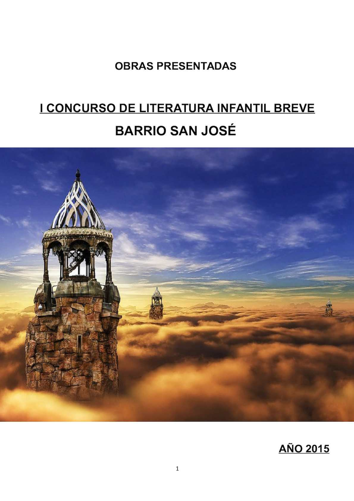 Calaméo - I CONCURSO LITERATURA INFANTIL BREVE SAN JOSE