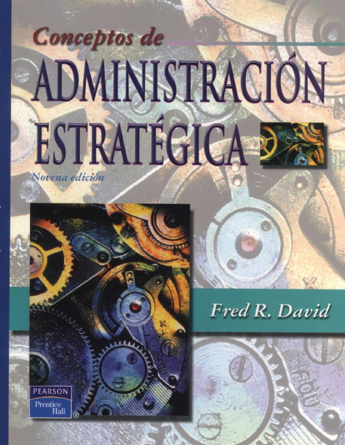 Conceptos De Adminitración Estratégica