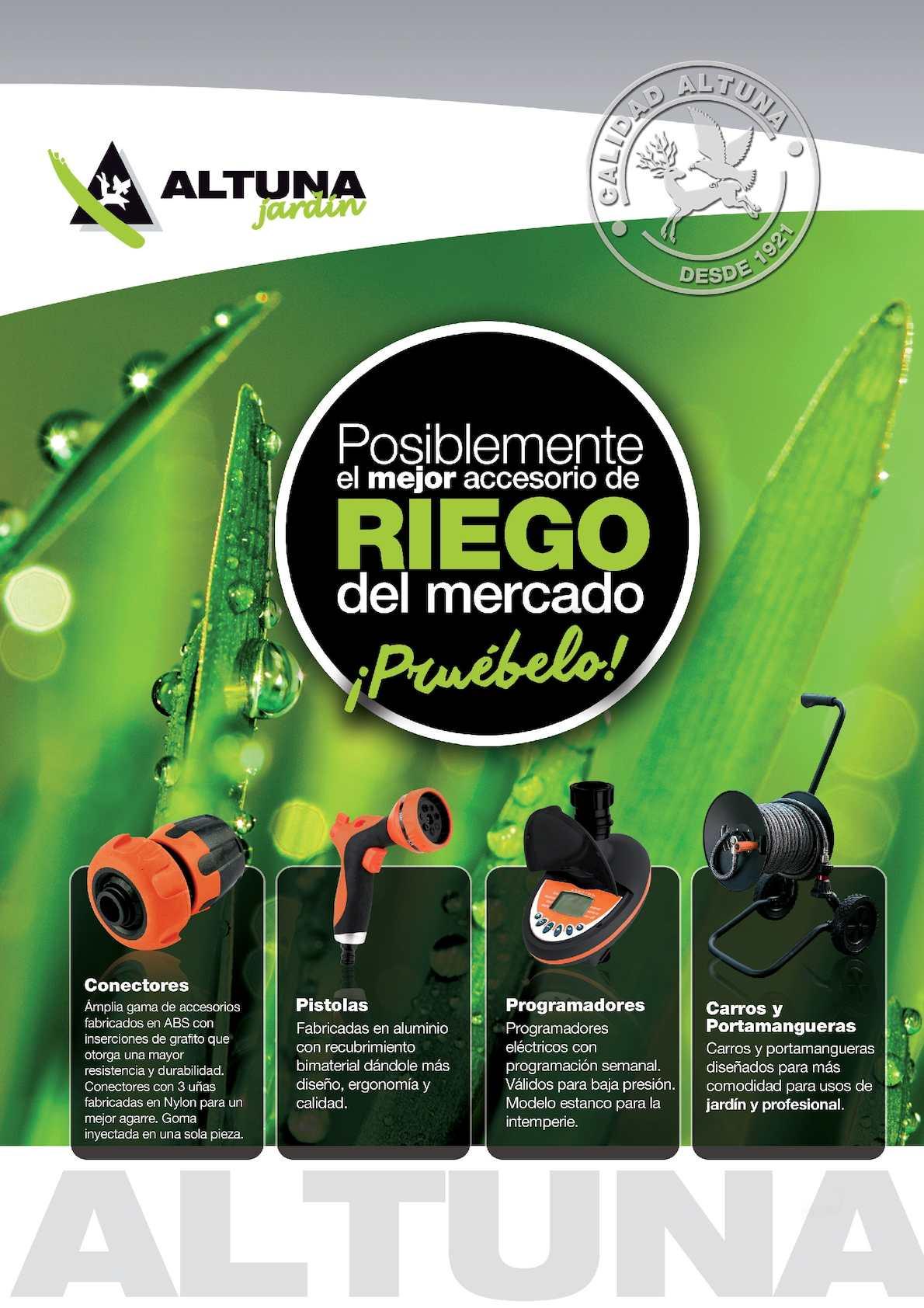 Folleto Riego Z 2016
