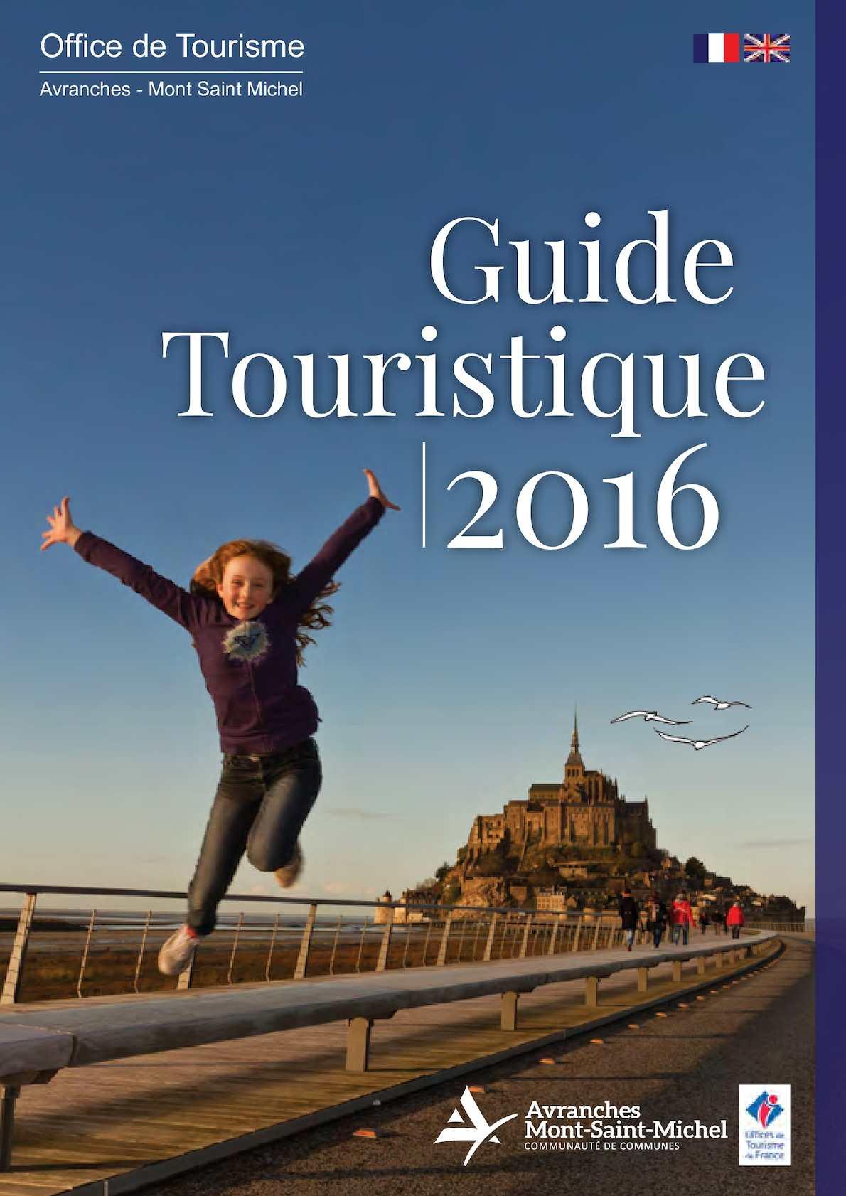 Calam o guide touristique 2016 avranches mont saint michel - Office tourisme mont st michel ...