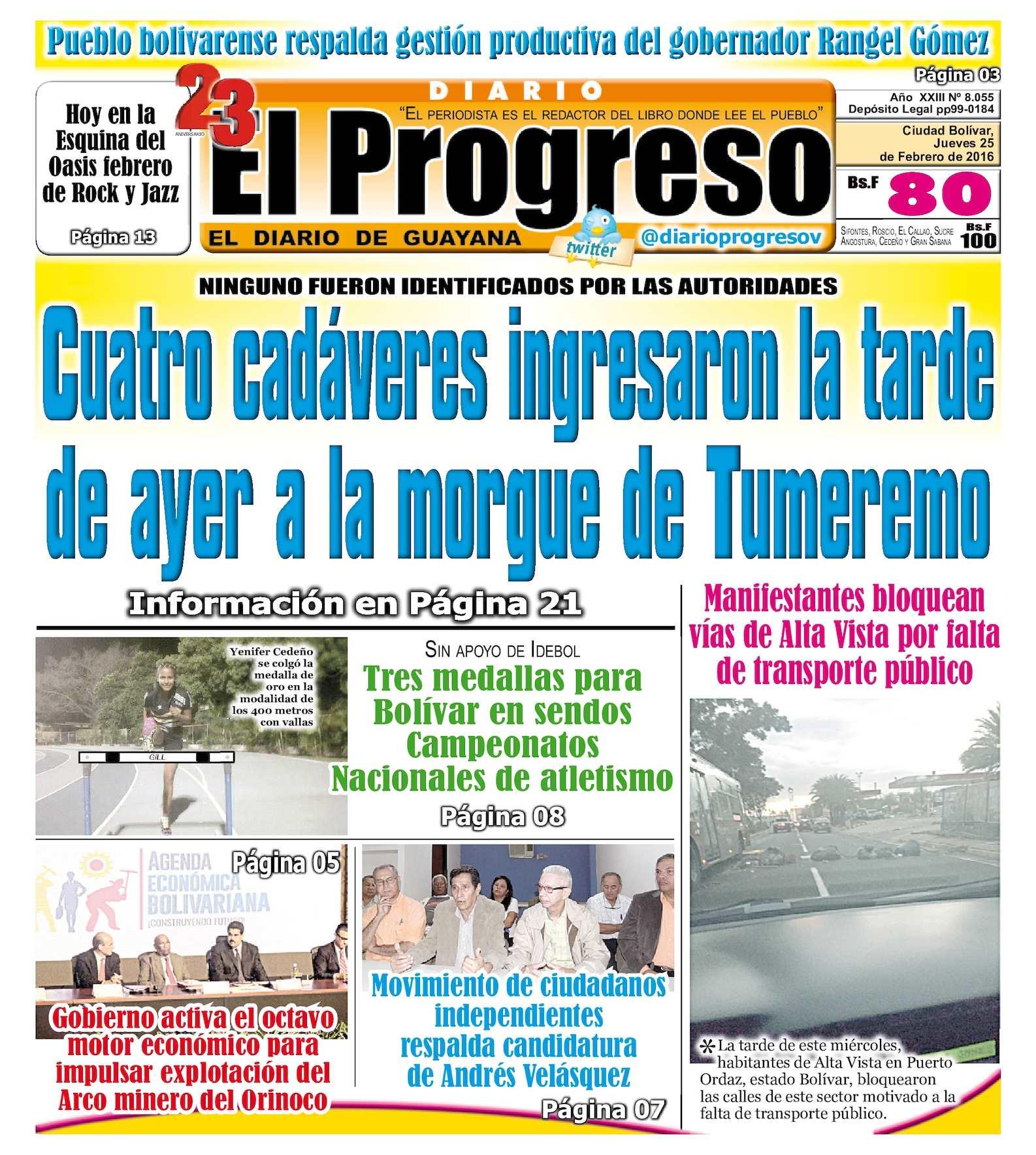 Calaméo - DiarioelprogresoEDICIÓNDIGITAL 25-02-2016