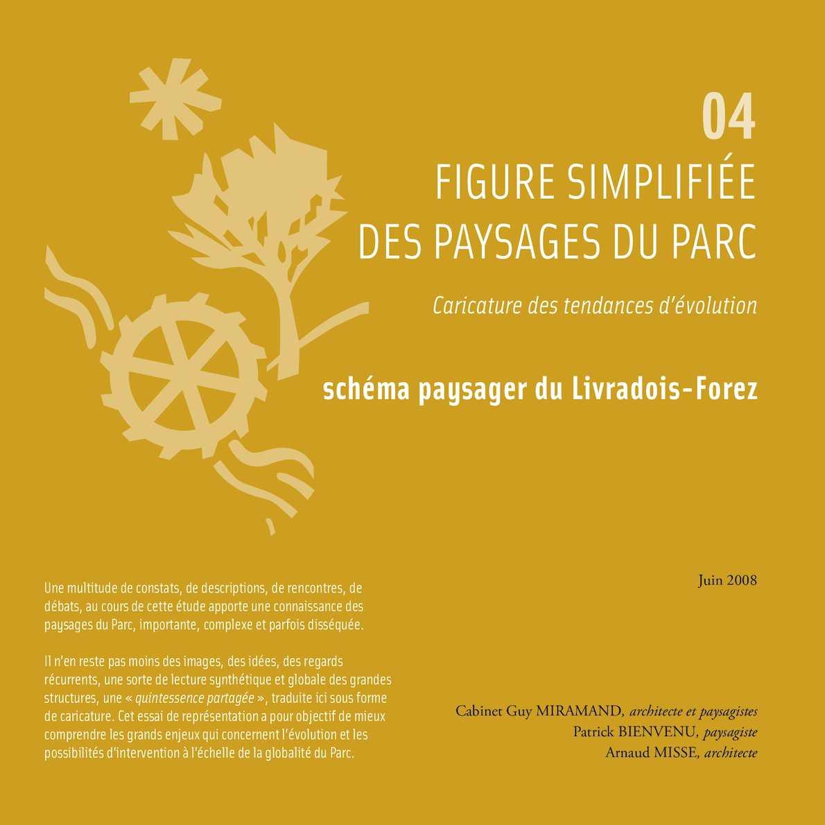 Schema Paysager du Parc Livradois-Forez  Figures simplifiées