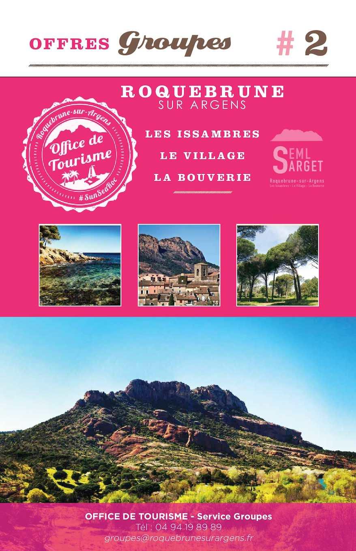 Calam o catalogue groupes 2016 - Office de tourisme roquebrune sur argens ...