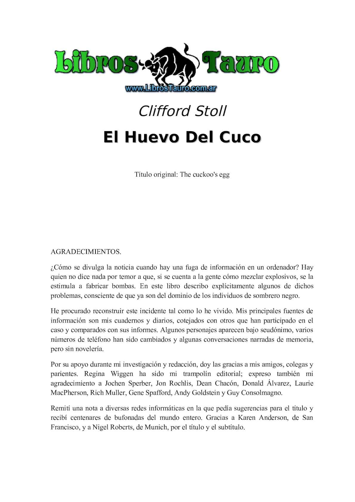 Calaméo - Cuco\'s Egg