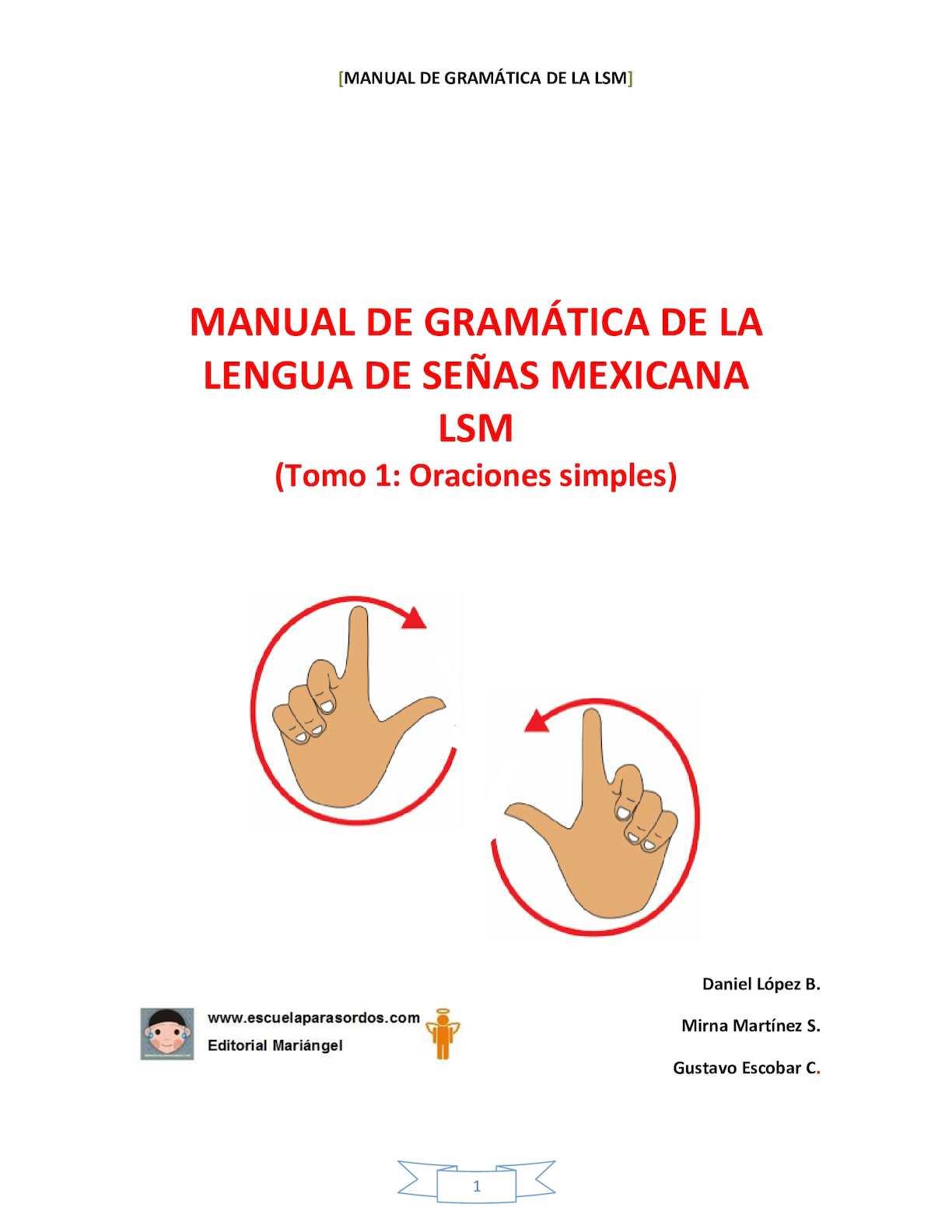 Calaméo - Manual De Gramática Lsm