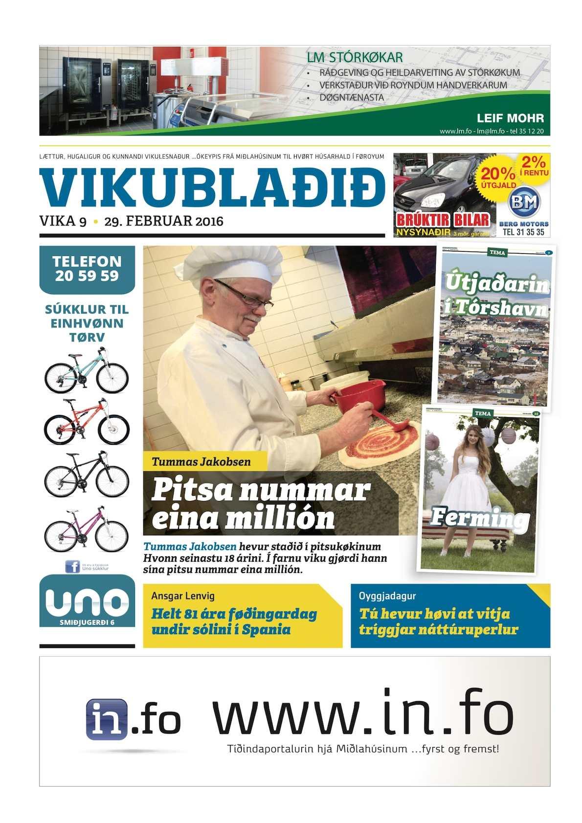 Vikublaðið 29. feb. 2016