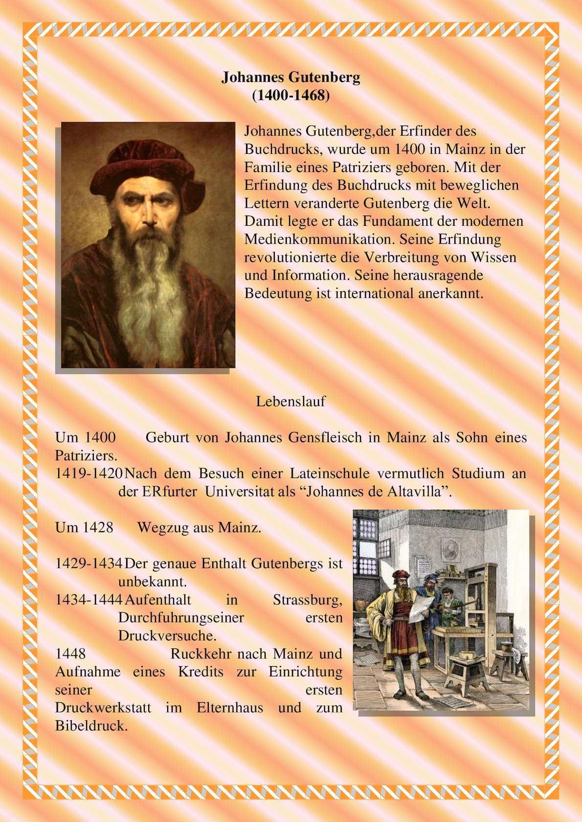 calamo gutenberg 5 - Johannes Gutenberg Lebenslauf