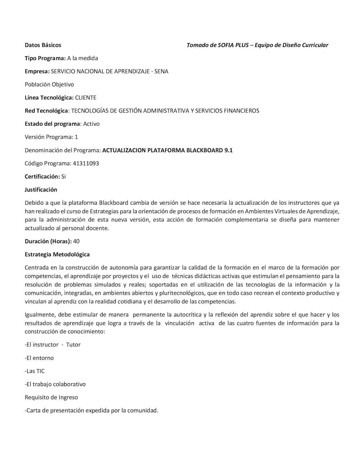 Calaméo - Programa De Formación Actualización Blackboard 9 1
